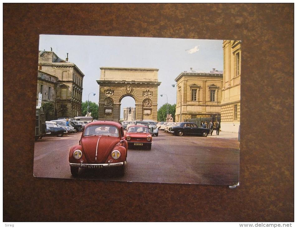 Montpellier  La Rue Foch Arc De Triomphe Coquecinbelle WV - Montpellier