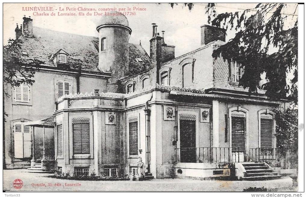 LUNEVILLE - 54 -  Le Petit Chateau Construit Par Charles De Lorraine - ENCH0616 - - Luneville