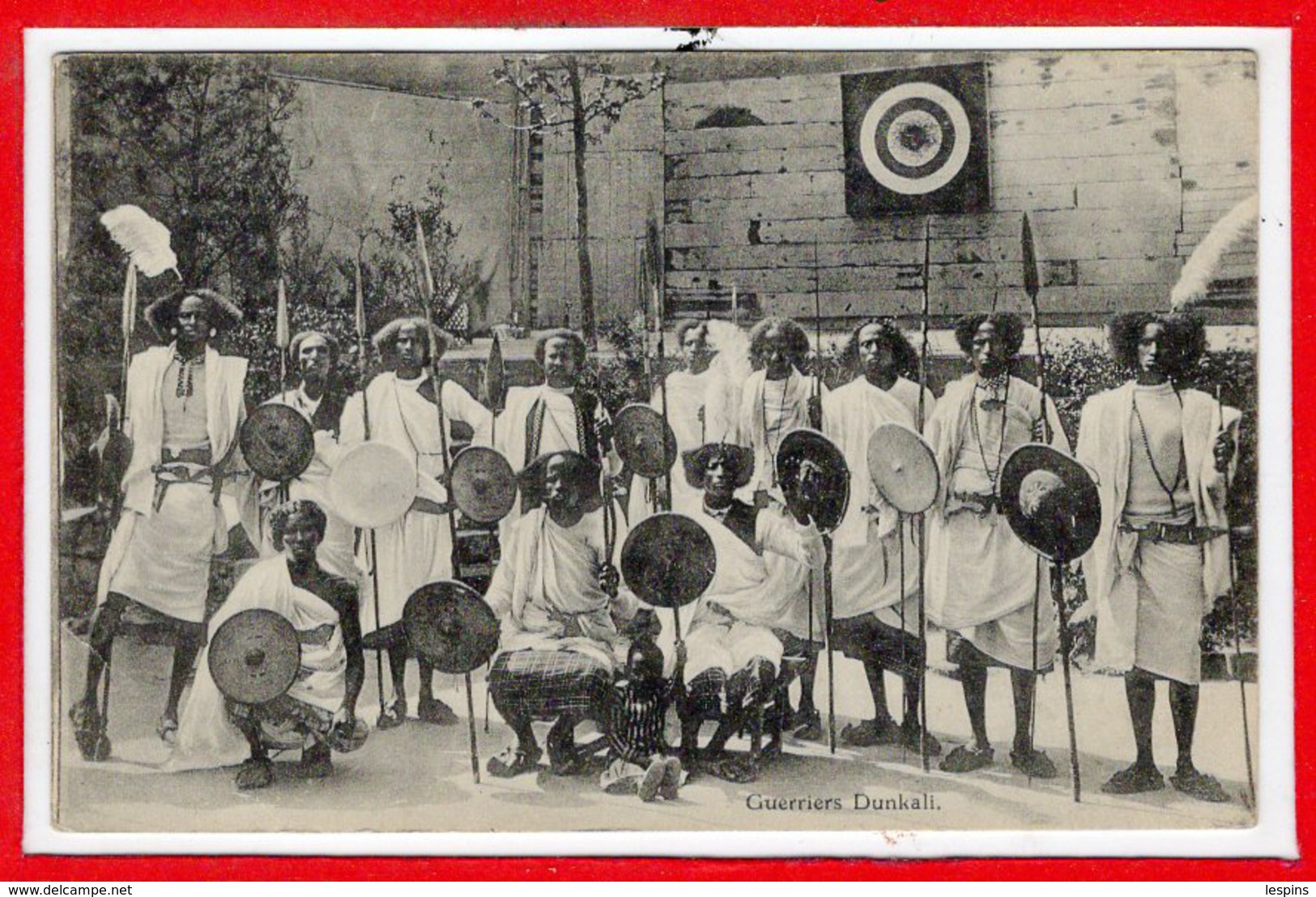 AFRIQUE --  SOMALIE - Guerrier Dunkali - Somalia