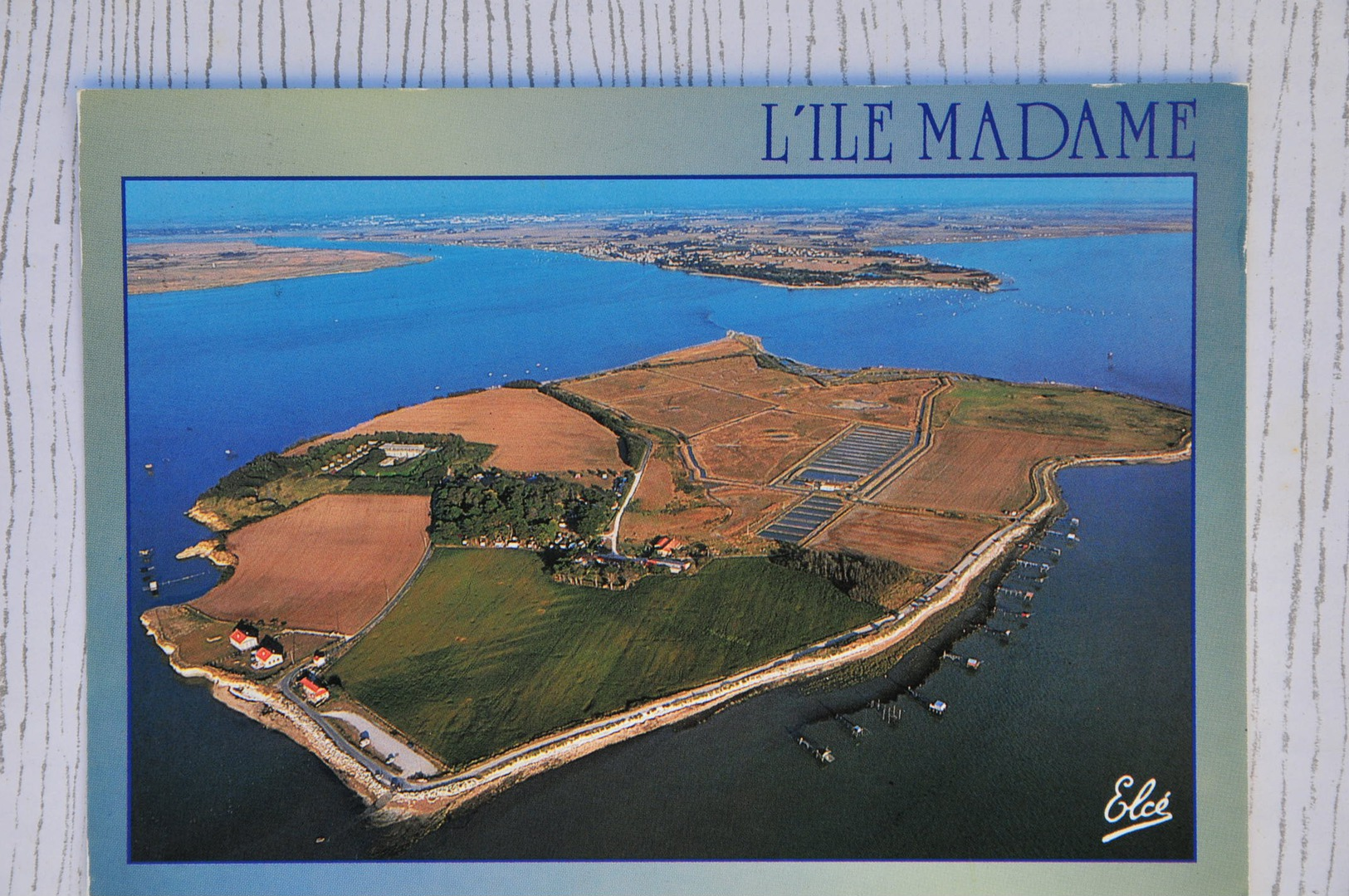 CPM ILE MADAME (17. Charente-Maritime) - Rochefort, Estuaire Charentais - Francia