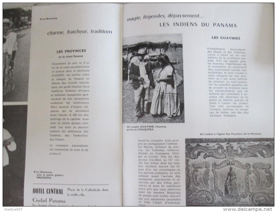 PANAMA  CARREFOUR DU MONDE  Canal De Panama  Chocos Mirafiores Gatun  Balseriza - Programmes
