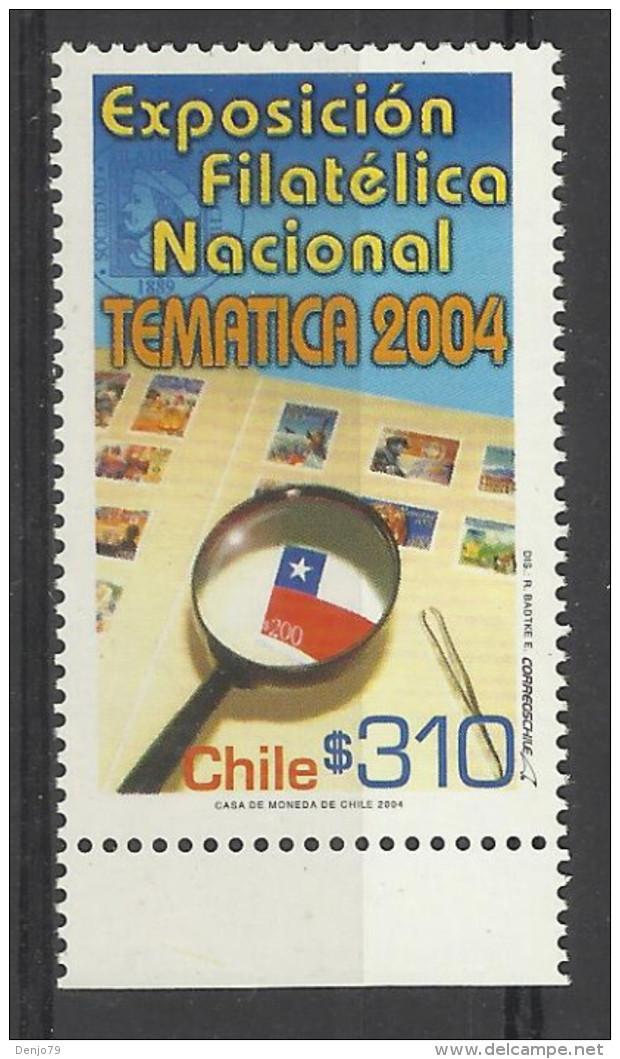 CHILE 2004 NATIONAL PHILATELIC EXHIBITION MNH - Chile