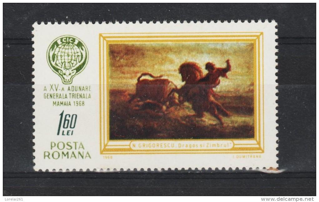 1968 - 15 Congres Trienal Des Chasseurs Mamaia  Mi No 2676 Et Yv No 2379 MNH - 1948-.... Republiken