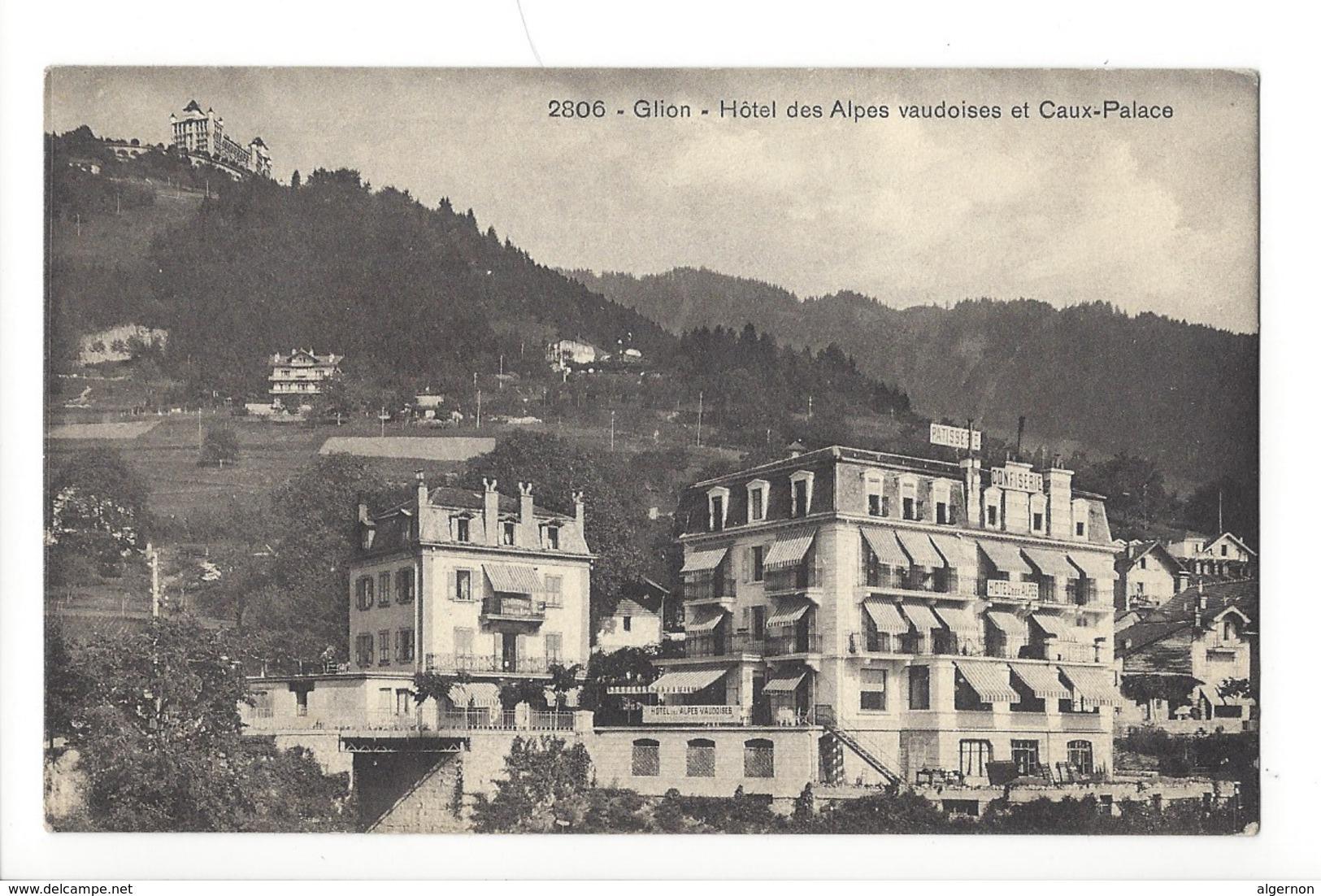 15149 - Glion Hôtel Des Alpes Vaudoises Et Caux-Palace - VD Vaud