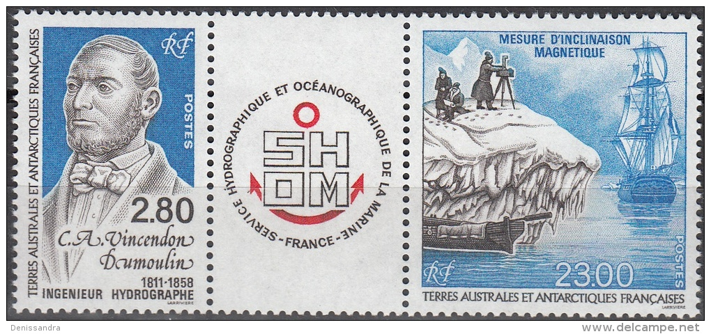 TAAF 1994 Yvert 193A Neuf ** Cote (2015) 13.20 Euro Adrien Vincedon Dumoulin Ingénieur Hydrographe - Terres Australes Et Antarctiques Françaises (TAAF)