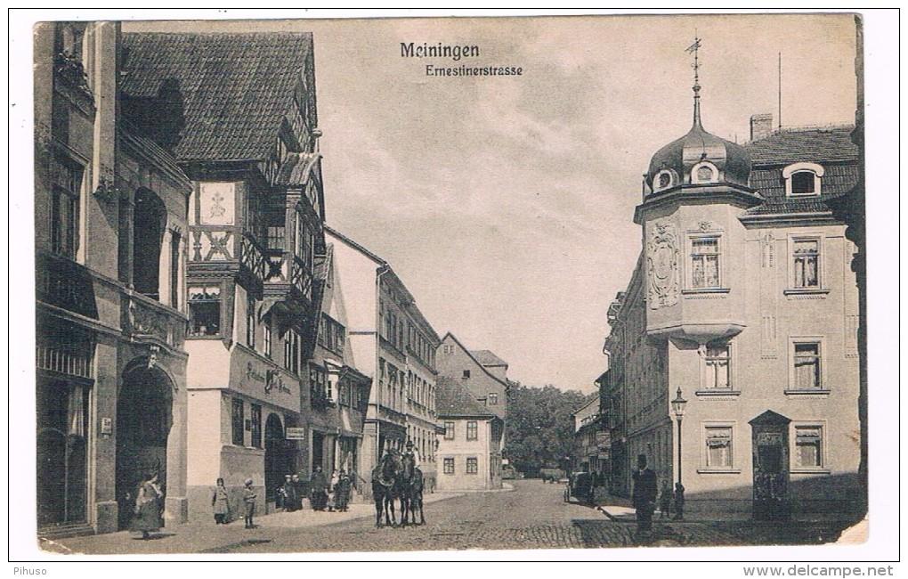 D6597    MEININGEN : Ernestinerstrasse - Meiningen