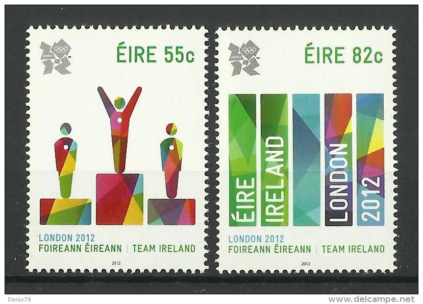 IRELAND 2012 LONDON OLYMPIC GAMES SET MNH - Zomer 2012: Londen