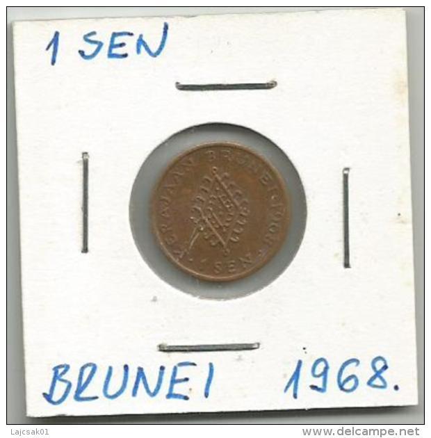 D4 Brunei 1 Sen 1968. - Brunei