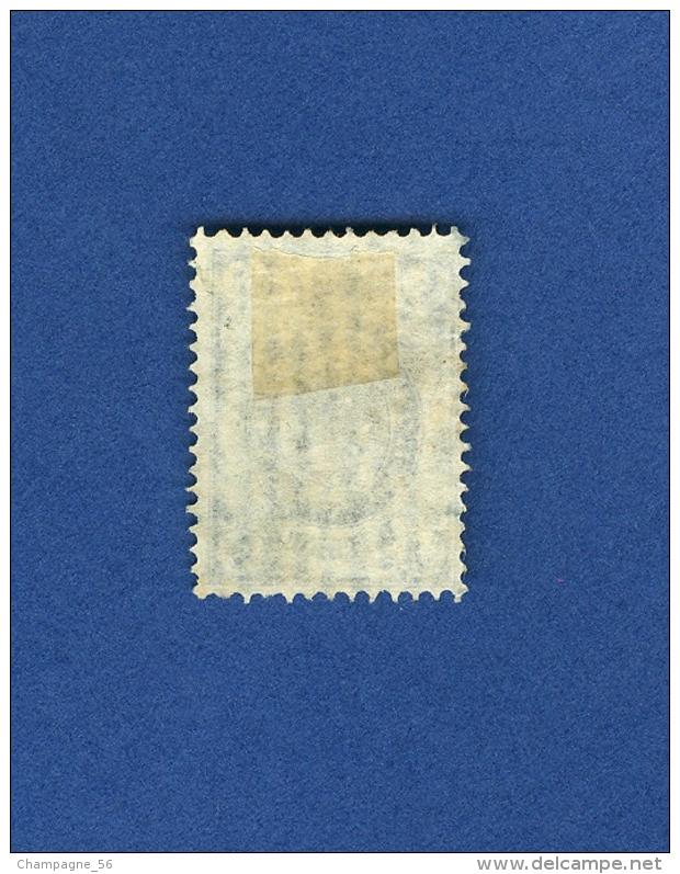 Variétés 1889 / 1905    5   OBLITÉRÉ DOS CHARNIÈRE - Errors & Oddities