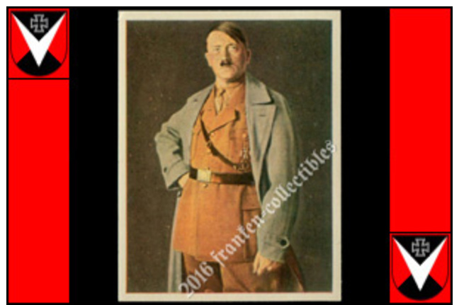 1933 Salem Card: Adolf Hitler (D00001-01) - Cigarettes