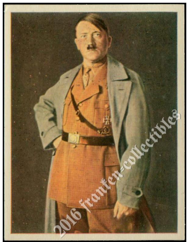 1933 Salem Card: Adolf Hitler (D00001-01) - Cigarette Cards