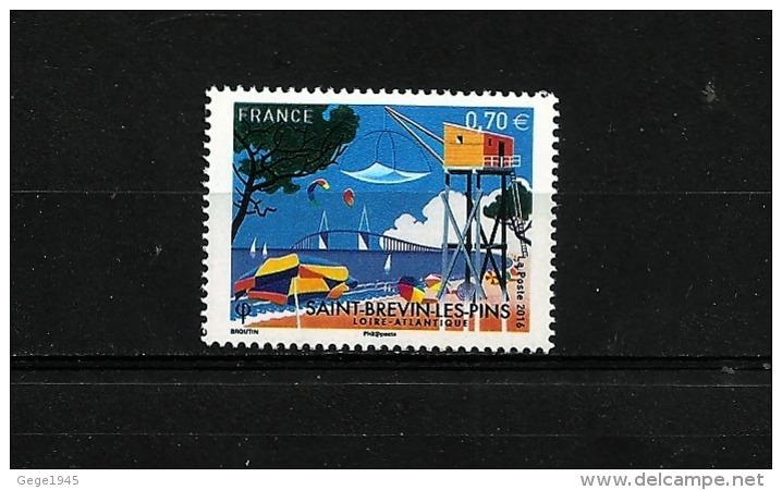 """France 2016 Neuf **  Gomé  N° 5047   """"   Saint-Brevins-les-pins   """"  Valeur Faciale 0.70 € - Frankreich"""