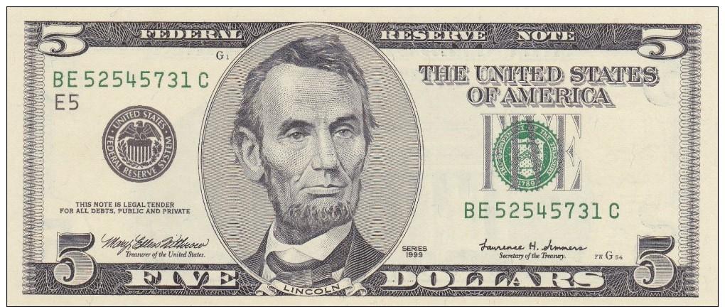 United States Of AMERICA  1999. - Non Classificati