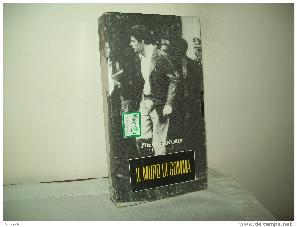 """L´Unità Ricordi Presenta:  """"Il Muro Di Gomma""""  Con Angela Finocchiaro - Videocassette VHS"""