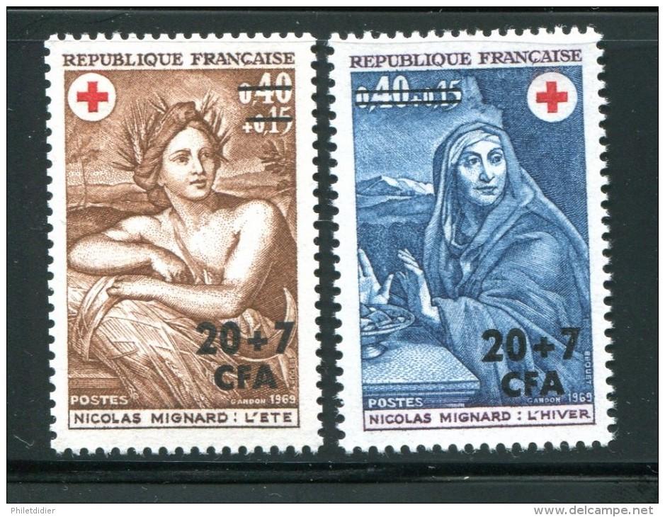 Y&T N°388 Et 389 Neufs Avec Charnière * - Isola Di Rèunion (1852-1975)