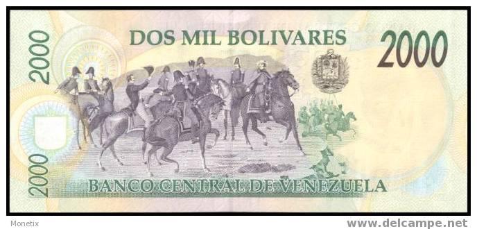 Venezuela #77b, 2.000 Bolívares, 10.02.1998, UNC - Venezuela