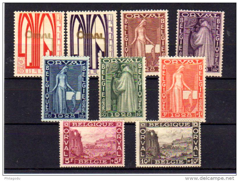 Première Orval, 256 / 266*,  Cote 90 €, - Bélgica