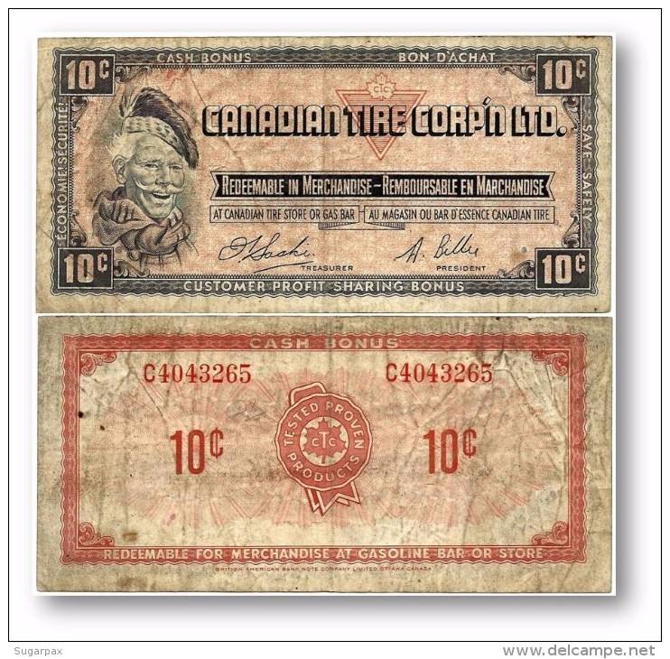 CANADA - 10 Cents - Cash Bonus - CANADIAN TIRE CORPORATION LIMITED - Canada
