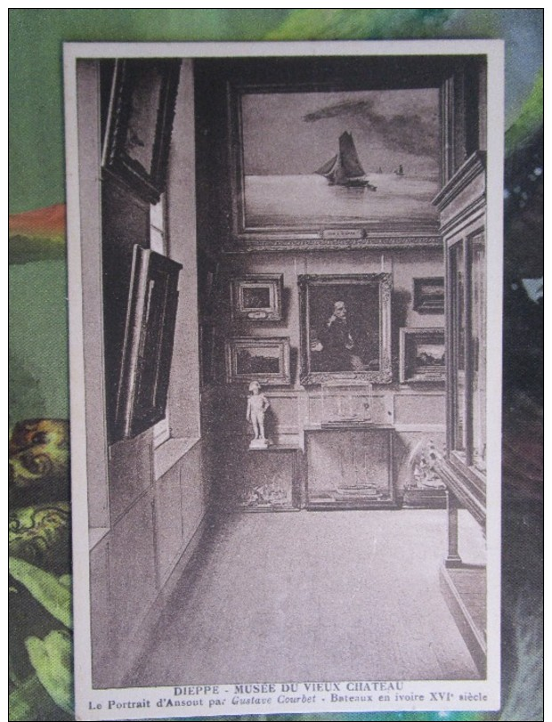 Dieppe - Musée Du Vieux Chateau - Le Portrait D'Ansout Par Gustave Courbet - Dieppe