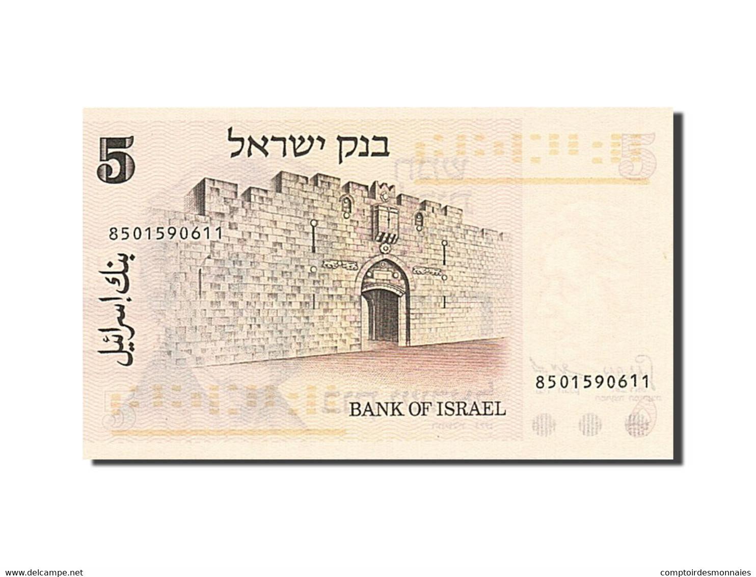 Israel, 5 Lirot, 1973-1975, KM:38, 1973, SPL+ - Israel