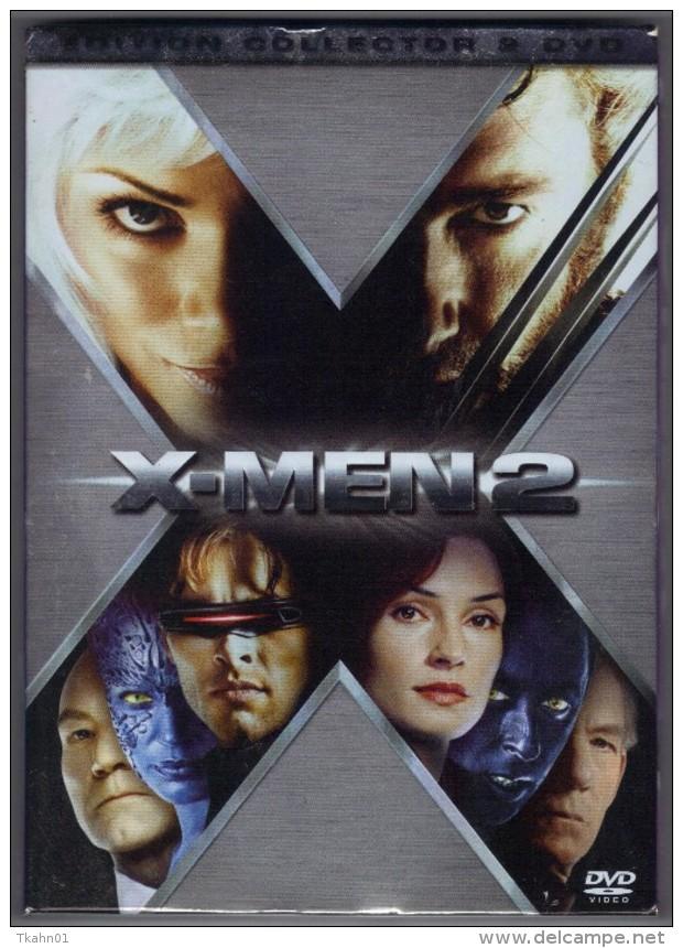 "D-V-D    "" X-MEN 2    ""   EDITION  COLLECTOR  2 DVD - Sci-Fi, Fantasy"