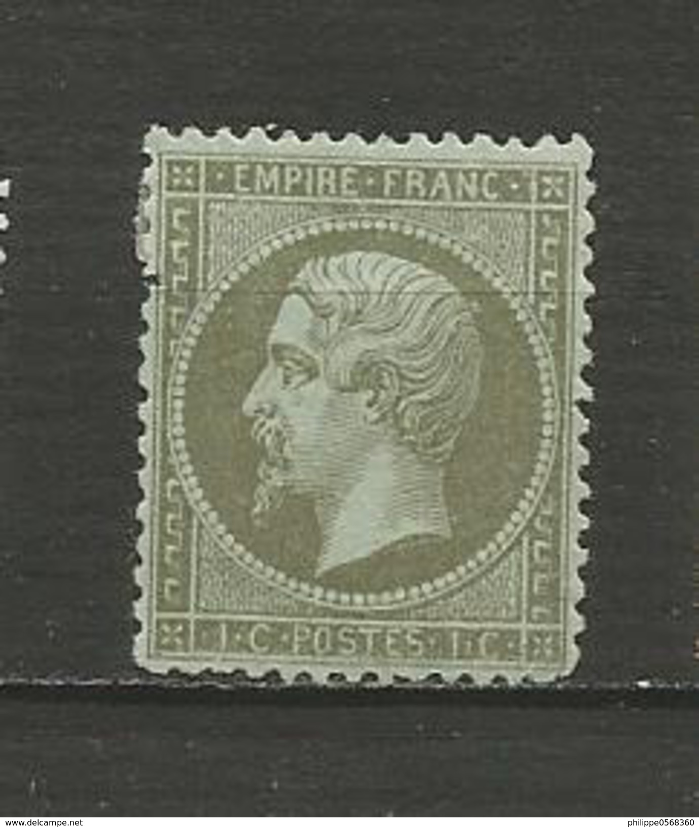 Type Napoléon III Année 1862 - 1862 Napoleon III