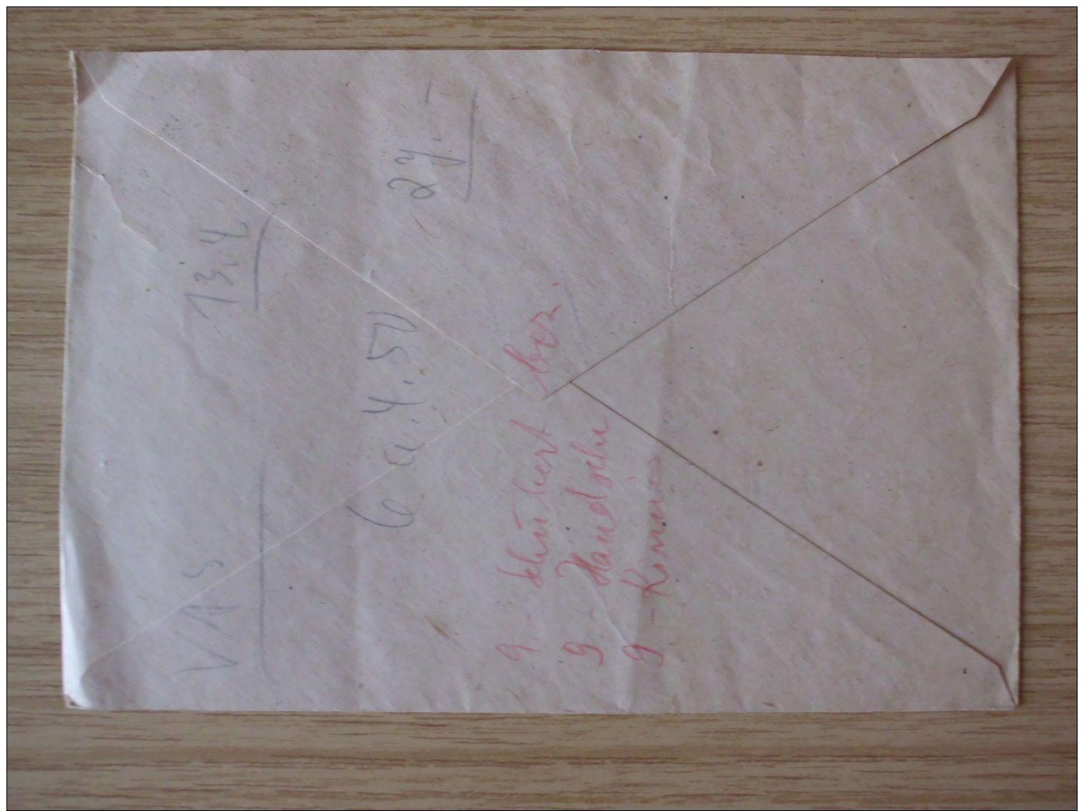 15.12.1948, BELEG Der ZWITTERSTOCK ALTENBERG, ZWEIGBETRIEB Der VVB BUNTMETALL Mit STEMPEL Von ALTENBERG (ERZGEB) - Zona Sovietica