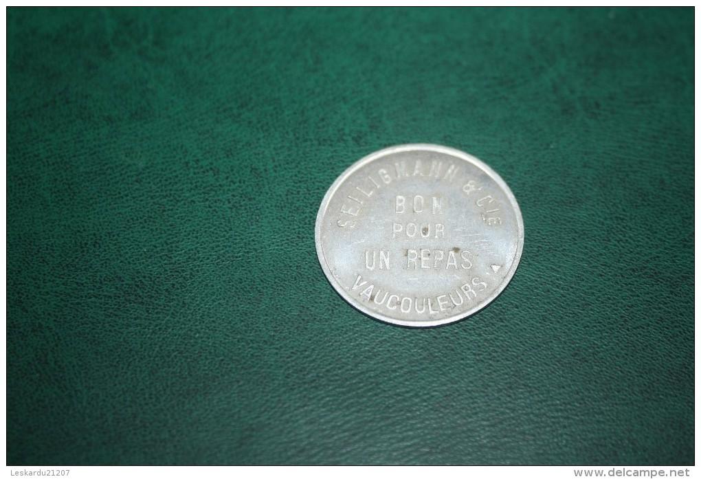 VAUCOULEURS - Ets SEILIGMANN - MEURTHE ET MOSELLE  - 54 - Monétaires / De Nécessité