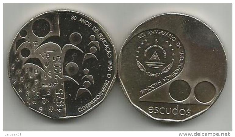 Cape Verde 200 Escudos 2005. 30th Anniversary Of The Independence Of Cabo Verde - Cap Vert
