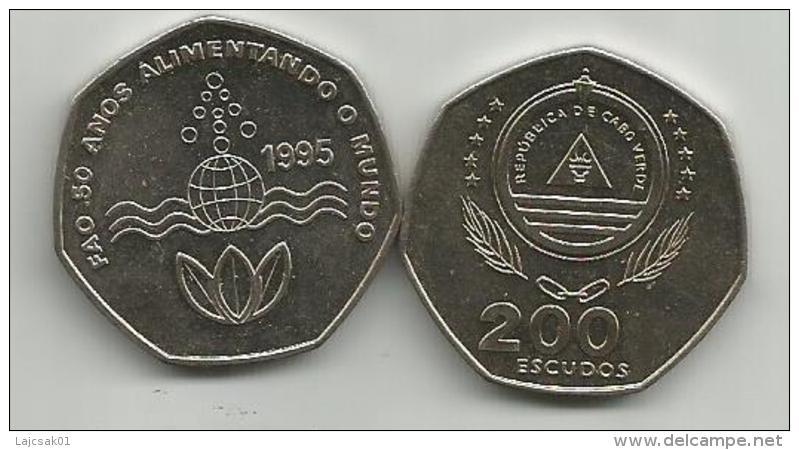 Cape Verde 200 Escudos 1995.  FAO KM#34 - Cap Vert