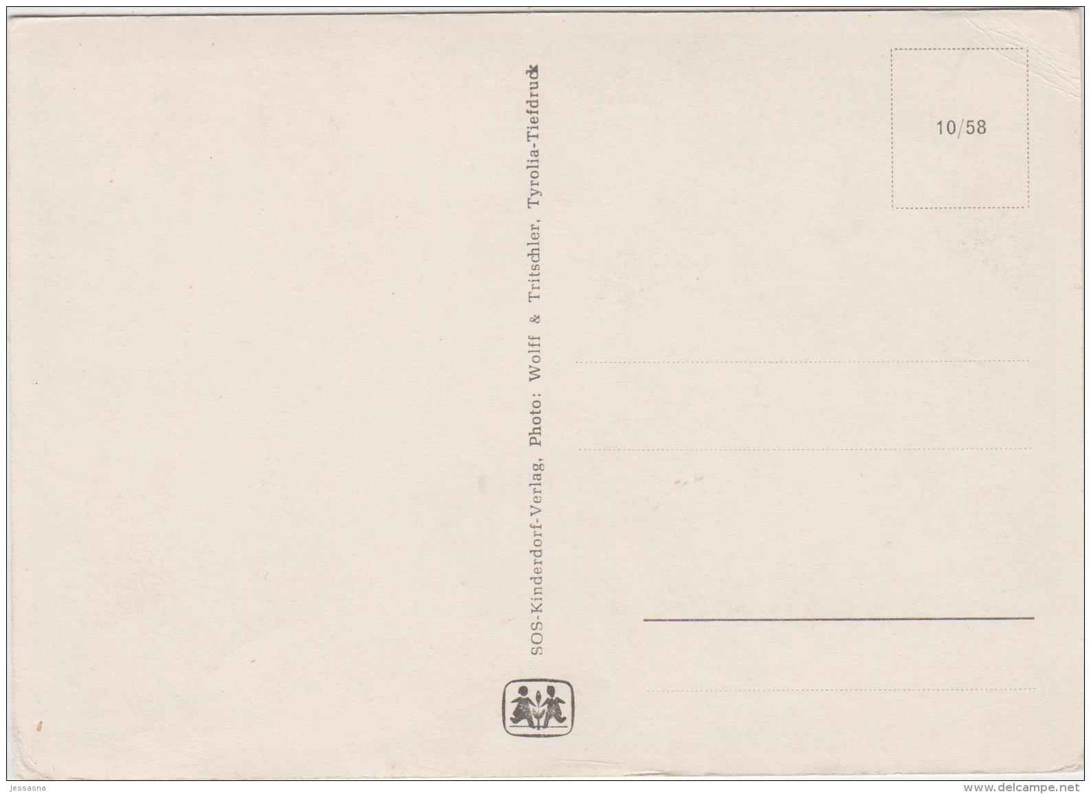 AK - SOS Kinderdorf - Karte - 40iger Jahre - Kinder
