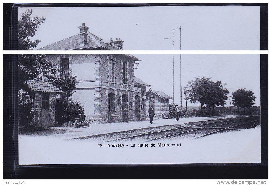 MAURECOURT LA GARE - Maurecourt