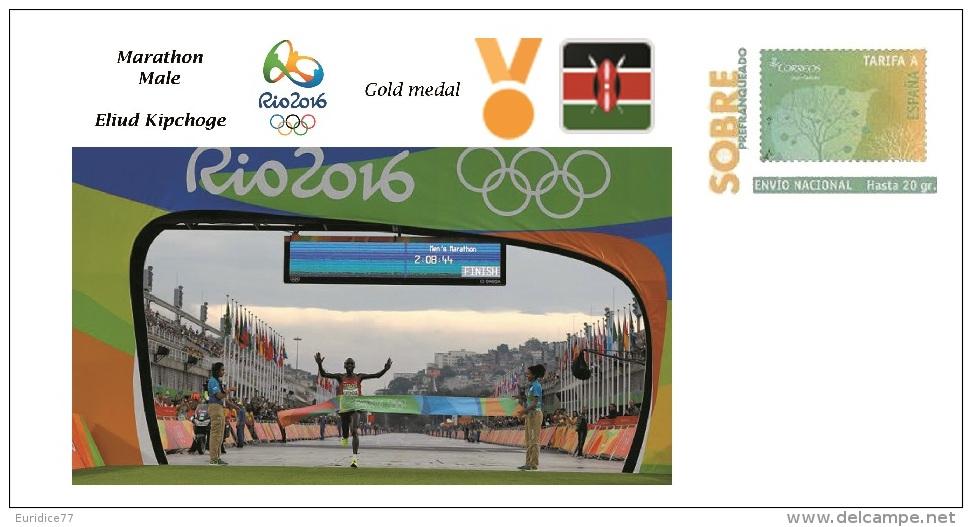 Spain 2016 - Olympic Games Rio 2016 - Gold Medal - Marathon Male Kenya Cover - Juegos Olímpicos