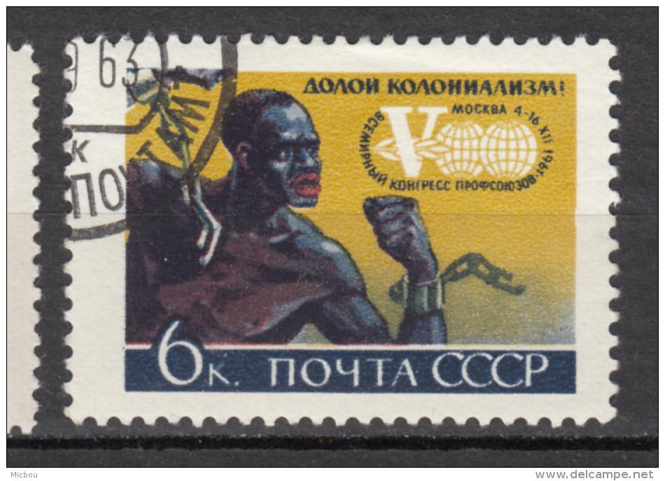 ##17, Russie, Russia, 1961, Abolition De L´esclavage, Chaîne, Chain, Black, Noir, émancipation, Abolition Of Slavery, - 1923-1991 URSS
