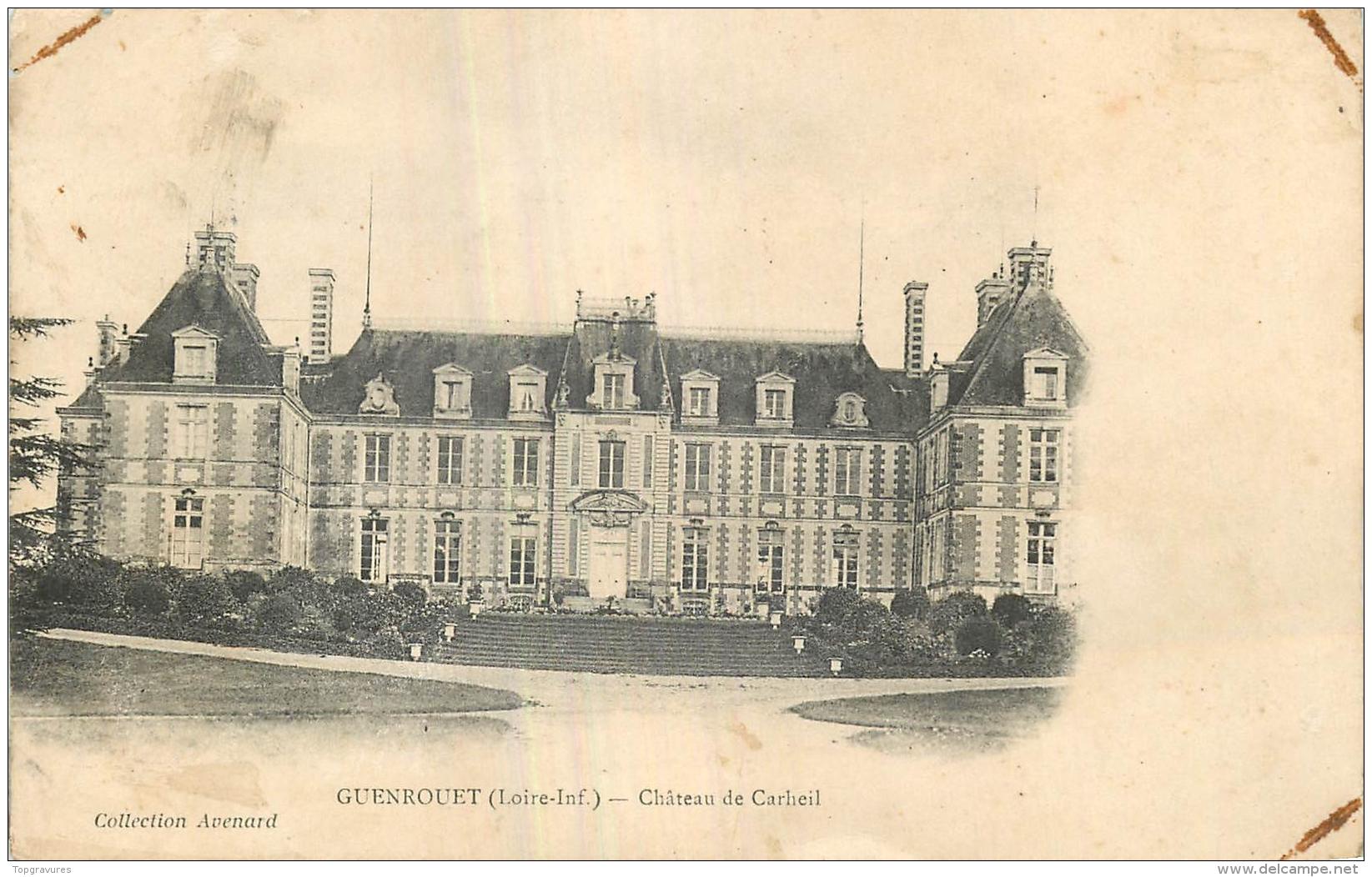 44 Guenrouet Chateau De Carheil - France