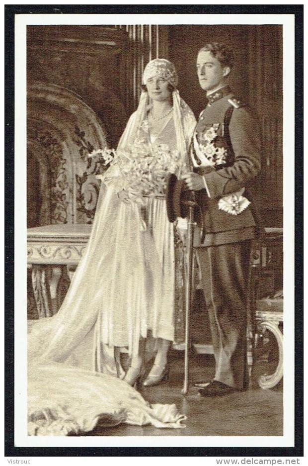 BELGIQUE - Léopold III Et Reine ASTRID - Mariage - Non Circulé - Not Circulated - Nicht Gelaufen. - Familles Royales
