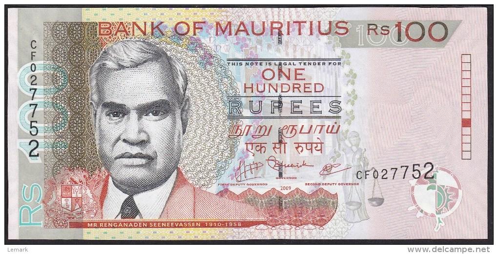 Mauritius 100 Rupees 2009 P56c UNC - Maurice