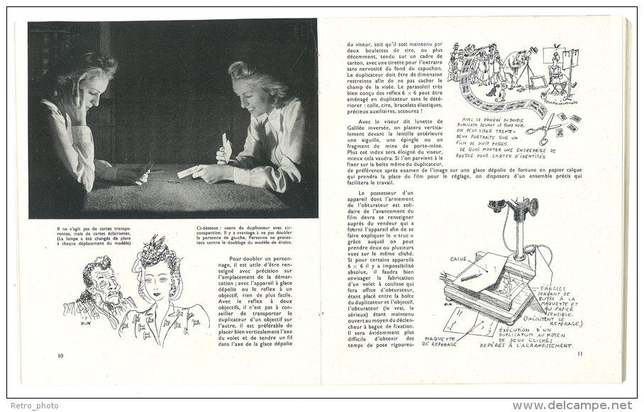Livre Fantaisies Photographiques, Publications Paul Montel, Paris, 1948, Photomontages, Macro, Maquettes - Photographie