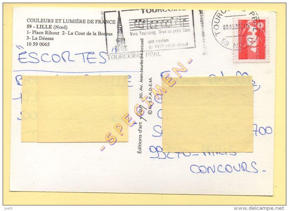 59. LILLE –   Multivues – Blason (animée) - Lille