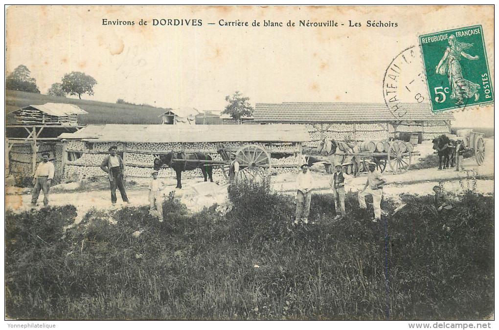 45 - DORDIVES - Carrières De Blanc De Nérouville - Les Séchoirs - Dordives