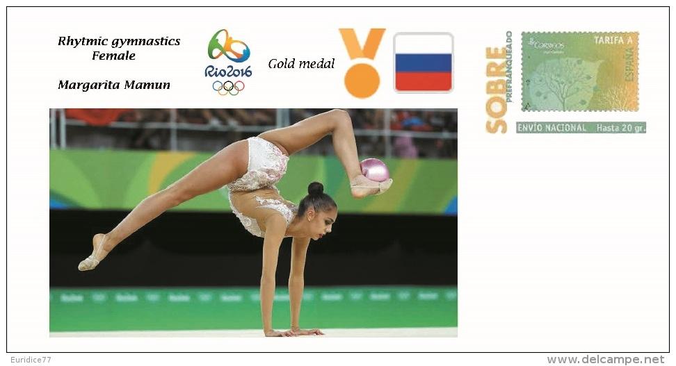 Spain 2016 - Olympic Games Rio 2016 - Gold Medal Rhythmic Gymnastics Female Russia Cover - Sin Clasificación