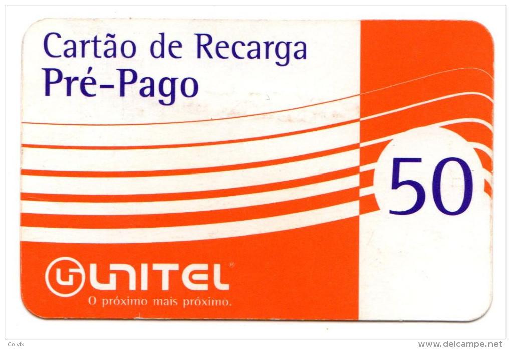 ANGOLA PREPAYEE UNITEL Année 2003 - Angola