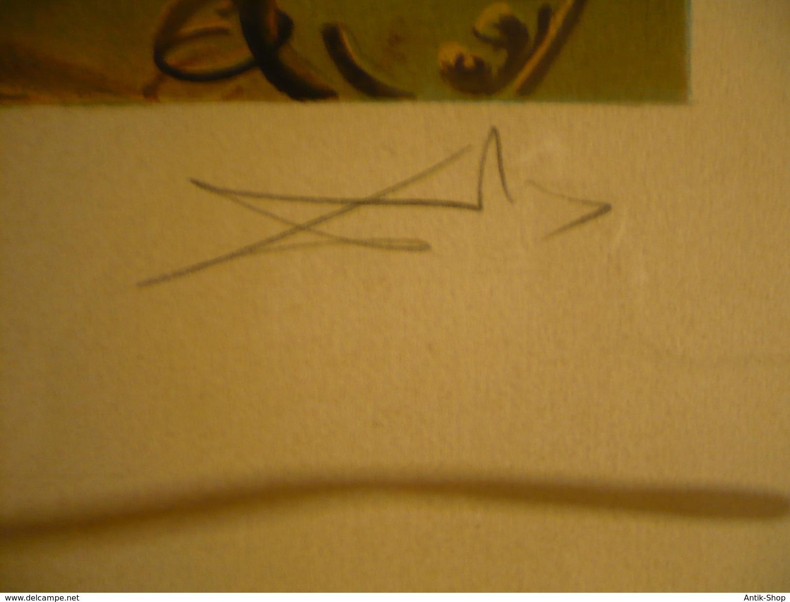 """ARTIST Salvador Dali (1904-1989) *** TITEL """"Monumet Imperiale à La Femme-enfant"""" *** TECHNIK Lithographie *** AUFLAGE E. - Lithographien"""