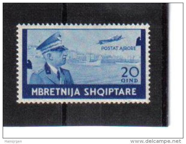 POL293  ALBANIEN 1940  MICHL NR.  315  (*) FALZ Siehe ABBILDUNG - Albanien