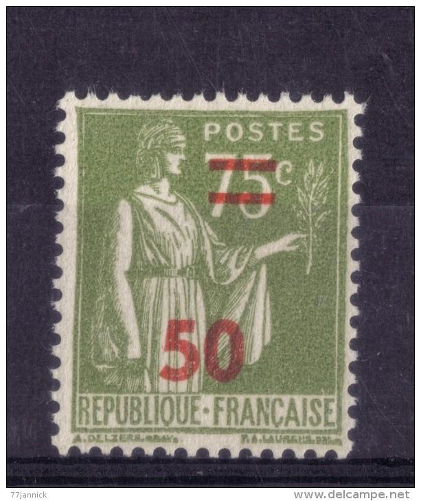 N* 480 NEUF** - 1932-39 Paix