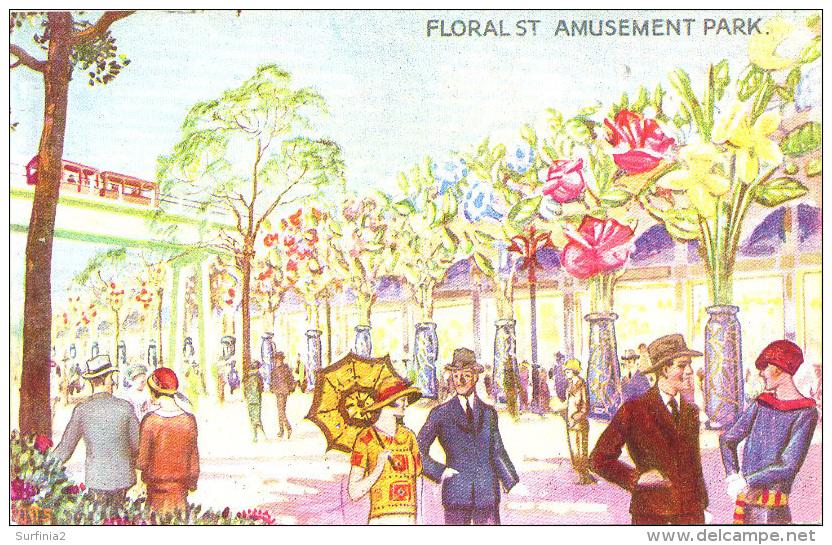 EXHIBITION - 1924/5 - FLORAL STREET, AMUSEMENT PARK - FLEETWAY  Ex13 - Exhibitions