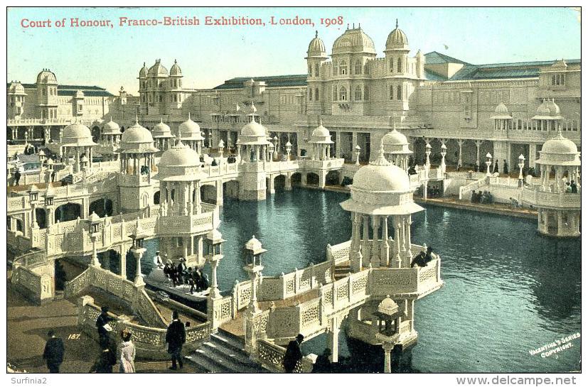 EXHIBITION - 1908 FRANCO BRITISH - COURT OF HONOUR Ex36 - Exhibitions