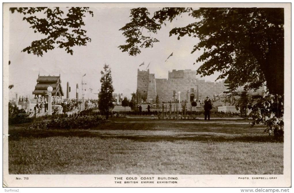 EXHIBITION - 1924/5 EMPIRE - THE GOLD COAST BUILDING RP Ex45 - Exhibitions