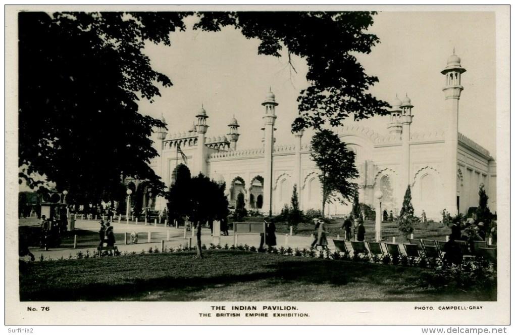 EXHIBITION - 1924/5 EMPIRE - THE INDIAN PAVILION RP Ex50 - Exhibitions