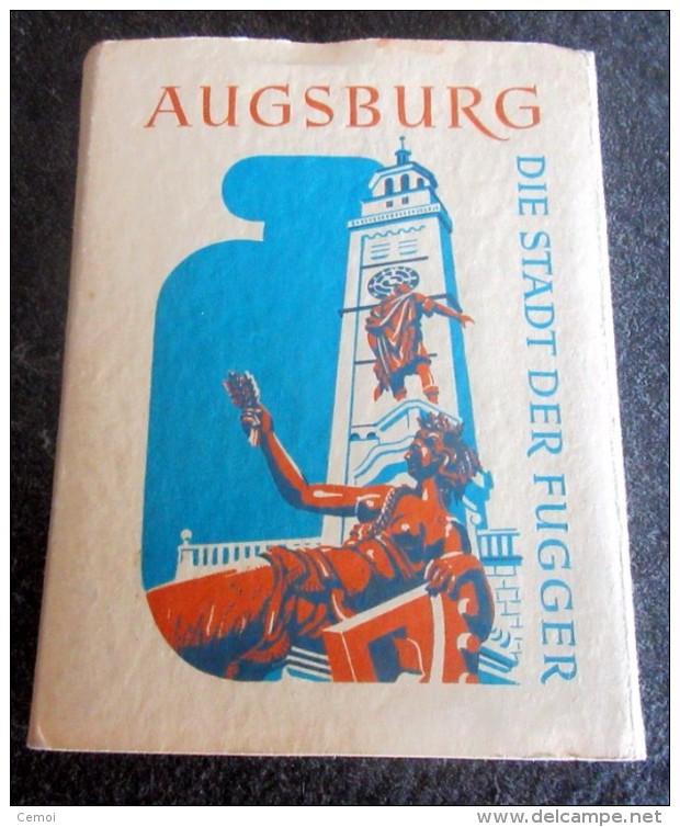 AUGSBURG - Die Stadt Der Fugger - Dépliant De 10 Vues Au Format 9 Cm X 7 Cm - Augsburg